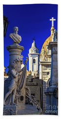 Hand Towel featuring the photograph Recoleta 02 by Bernardo Galmarini