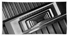 Rectangular Spiral Staircase Hand Towel