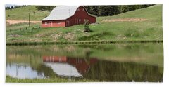 Red Barn Burgess Res Divide Co Hand Towel
