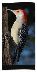 Red-bellied Woodpecker 3 Bath Towel