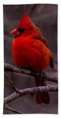 Red Bird Hand Towel