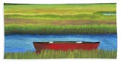Red Boat - Assateague Channel Bath Towel