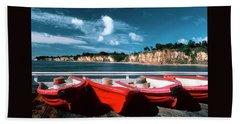 Red Boat Diaries Bath Towel