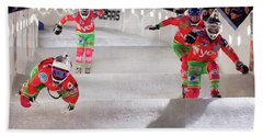 Red Bull Crashed Ice St Paul Bath Towel