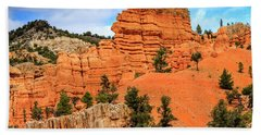 Red Canyon Area In Utah Hand Towel