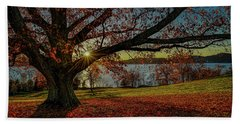 Red Carpet Hand Towel by Jeffrey Friedkin