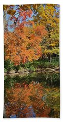 Red Cedar Banks Hand Towel by Joseph Yarbrough