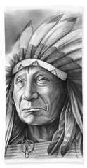 Red Cloud Hand Towel