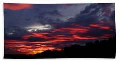 Red Cloud Mountain Hand Towel