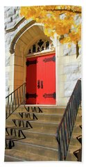 Red Door Tradition Bath Towel