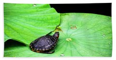 Red-eared Slider Bath Towel