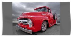 Red F-100 Hand Towel