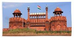 Red Fort New Delhi Hand Towel
