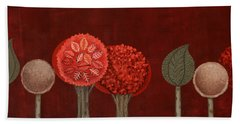 Red Grove Hand Towel