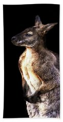 Red Kangaroo Hand Towel