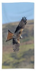 Red Kite Bath Towel