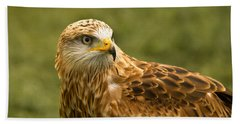 Hand Towel featuring the photograph Red Kite by Scott Carruthers