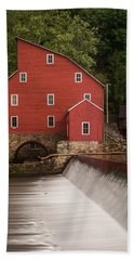 Red Mill Clinton New Jersey Bath Towel