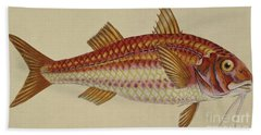 Red Mullet Hand Towel