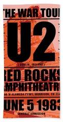 Red Rock Concert Hand Towel