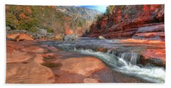 Red Rock Sedona Hand Towel by Kelly Wade