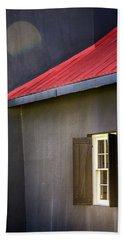 Red Roof Bath Towel