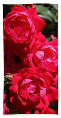 Red Rose 2 Hand Towel