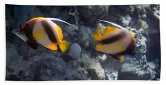 Red Sea Bannerfish 2 Bath Towel