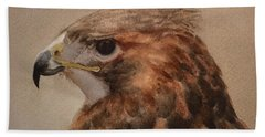 Red-shouldered Hawk Hand Towel