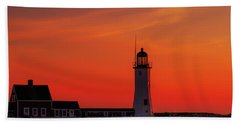 Red Sky In The Morning Hand Towel