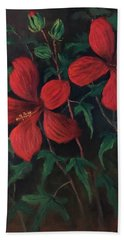 Red Soldiers Hand Towel