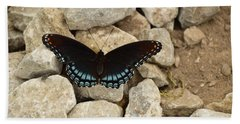 Red-spotted Purple Brush-foot Bath Towel