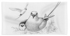 Red-tailed Tropicbirds Bath Towel