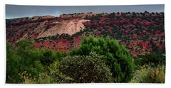 Hand Towel featuring the photograph Red Terrain - New Mexico by Diana Mary Sharpton