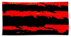 Red Tide Hand Towel by Tim Townsend