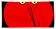 Reddddyyy Hand Towel by Cletis Stump
