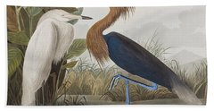 Reddish Egret Bath Towel