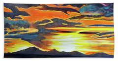 Hand Towel featuring the painting Redemption by Dottie Branchreeves