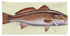 Redfish Id Bath Towel