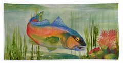 Rainbow Fish Hand Towel