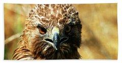 Redtail Hawk Hand Towel