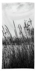 Reeds Of Black Bath Towel