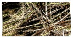 Reeds Reflected Hand Towel