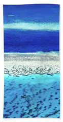 Hand Towel featuring the photograph Reefs Edge by Az Jackson