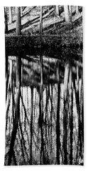Reflected Landscape Patterns Hand Towel