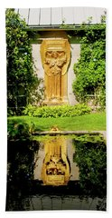 Reflecting Art Hand Towel by Greg Fortier