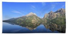 Reflection At Grand Teton National Park Hand Towel