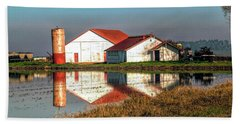 Reflection Barn  Hand Towel