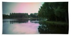 Reflection. Bath Sheet by Eskemida Pictures