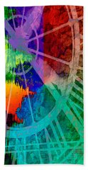 Reflection Of Time Bath Towel